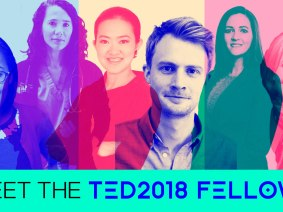Meet the 2018 class of TED Fellows and Senior Fellows