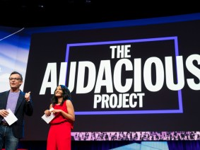 A behind-the-scenes view of TED2018, to inspire you to apply for The Audacious Project