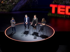 Decarbonizing fossil fuels: An unedited discussion from TED Countdown Summit