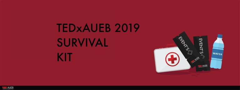TEDxAUEB 2019: The Survival Kit