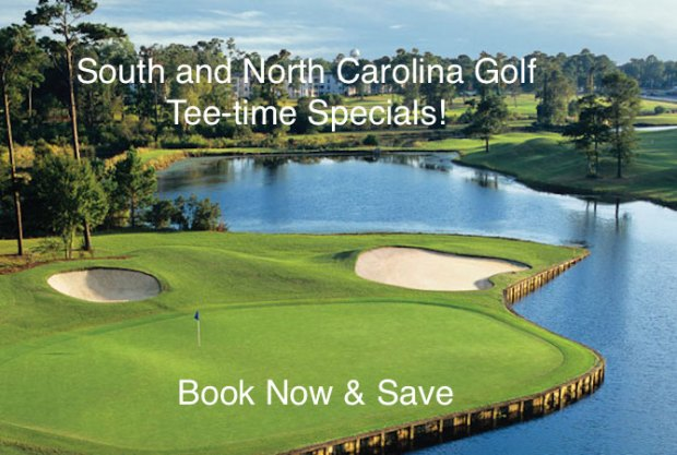 Golf Tee Time Specials SC and NC