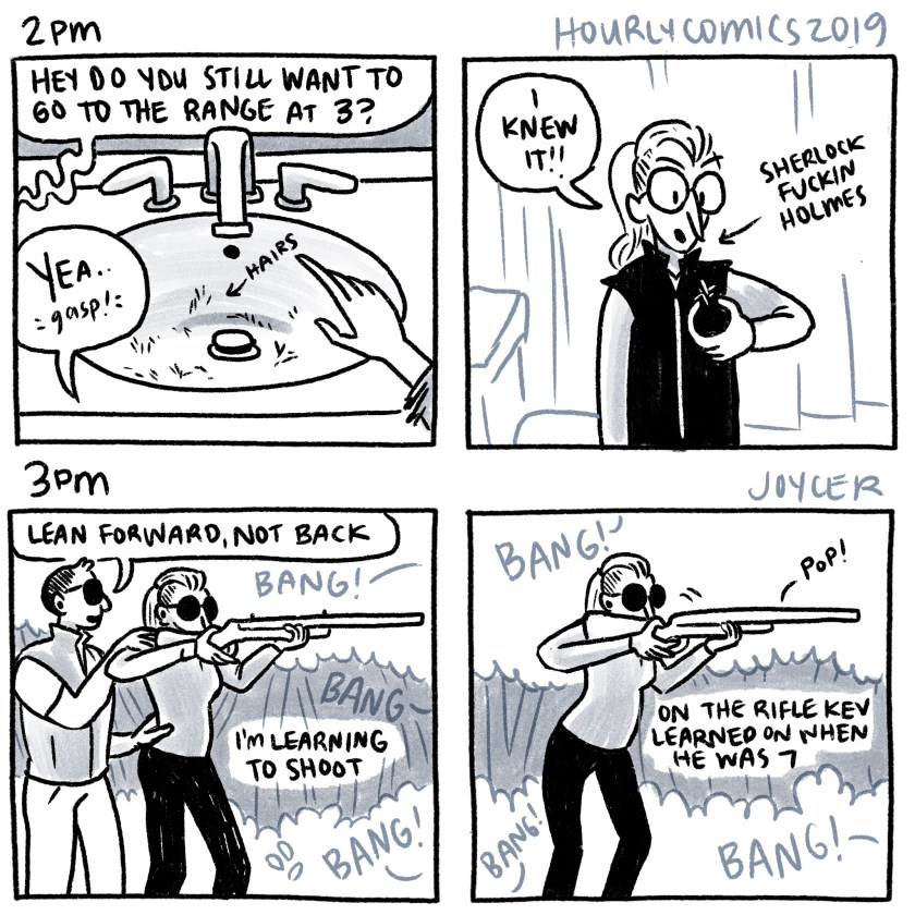 hourly comics 2019, 2pm-3pm