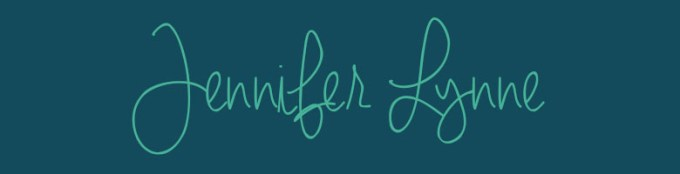 Font Handwriting Jennifer Lynne