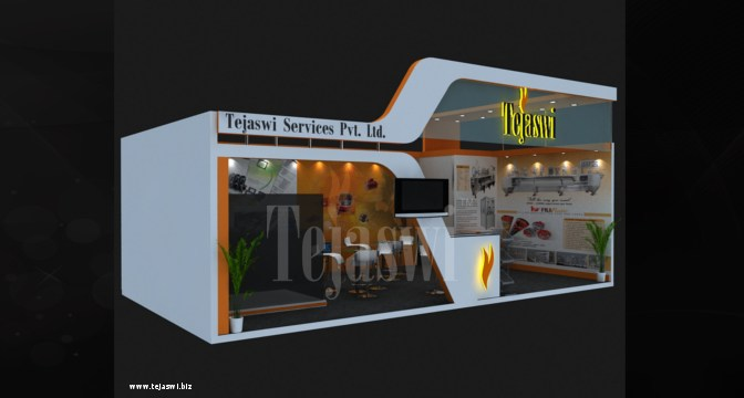 Setting up an Intelligent exhibition Stall Design