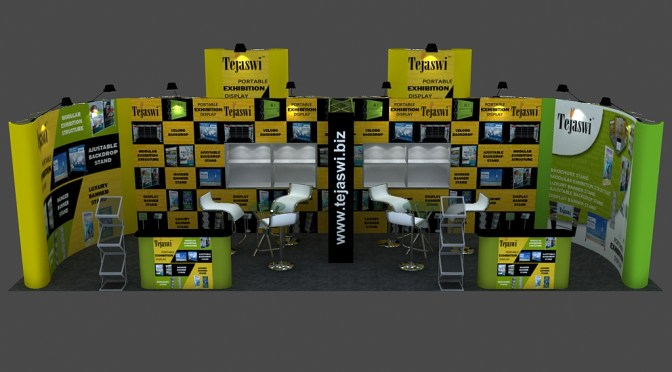 Portable Exhibition Kit / Trade Show Booth Advantage