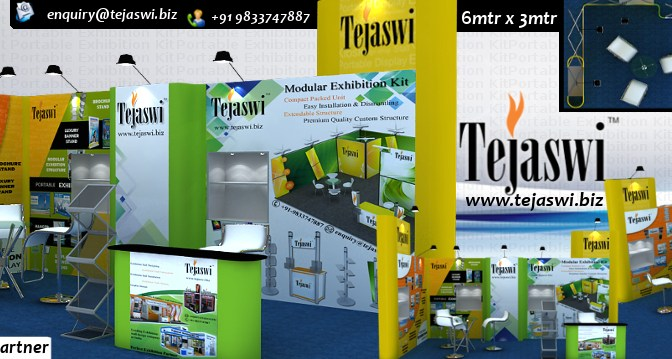 Portable Exhibition Stall A Great Option for Exhibitions