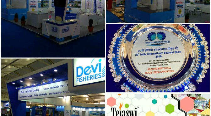 2nd Best Exhibition Stall Design Construction IISS Vizag India