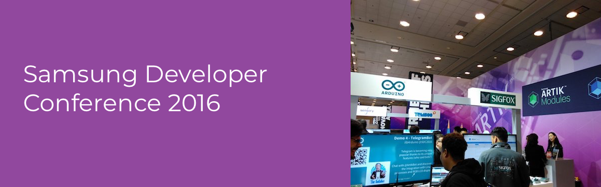 Samsung Developer Conference Header Image