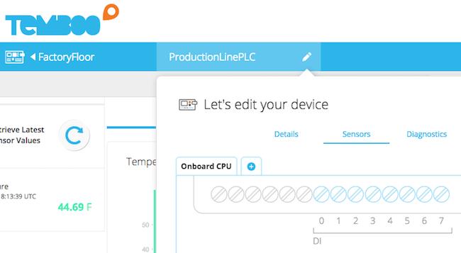 OTA Updates Temboo PLC app