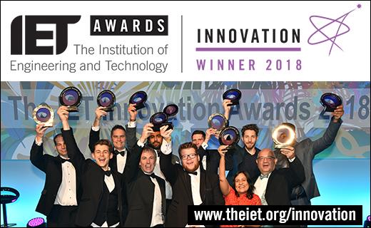 2018 IET Innovation Awards Winners