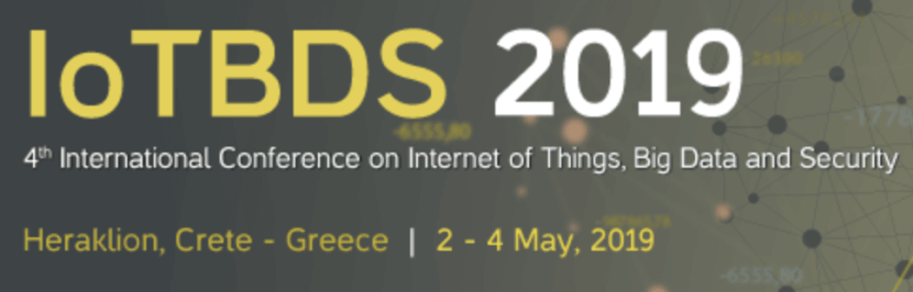 Conference on IoT, Big Data, and Security 2019