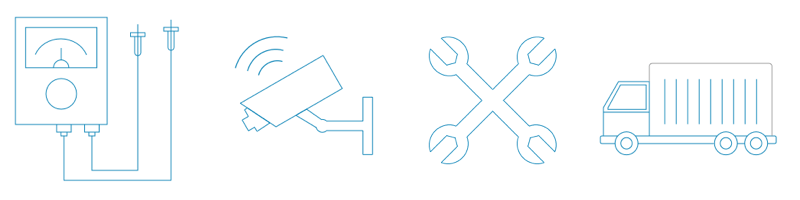 Remote Monitoring Icons