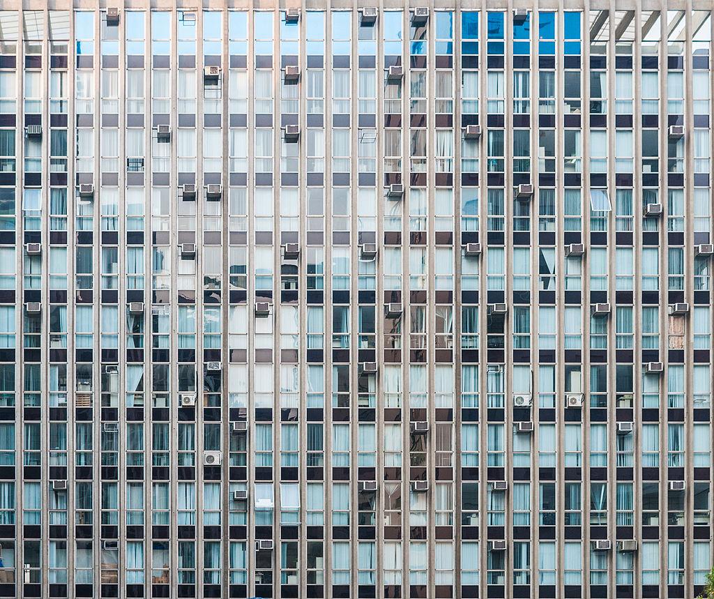 Building in Paulista Avenue, São Paulo, Brazil.