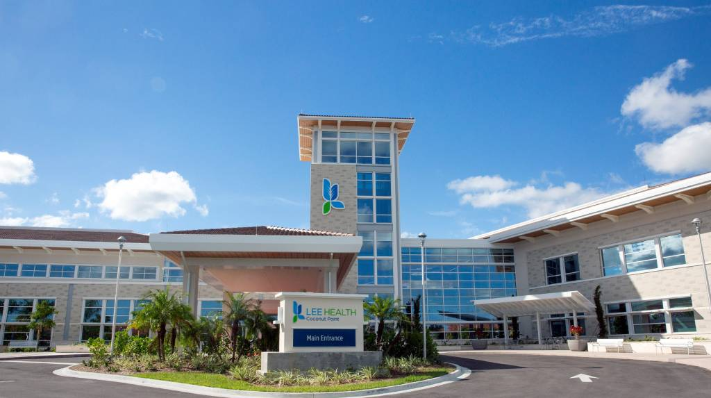 Lee Health's facility at Coconut Point in Estero, Florida