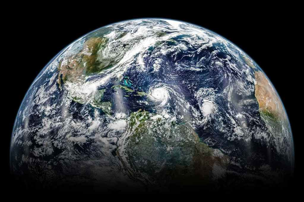 The earth is known as the blue planet due to its abundance of water