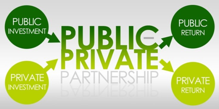 What is a public-private partnership image