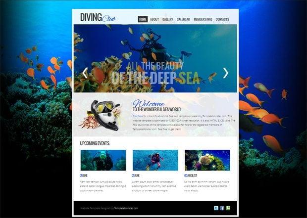 free website templatemonster summer 2012 collection