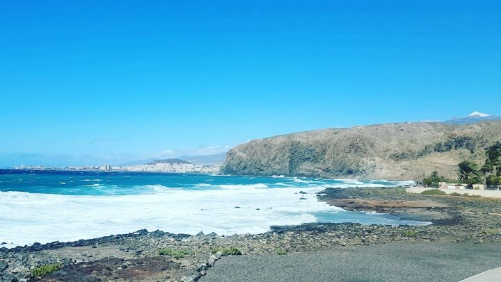 The Ocean by my home - Tenerife Island, Canary Islands