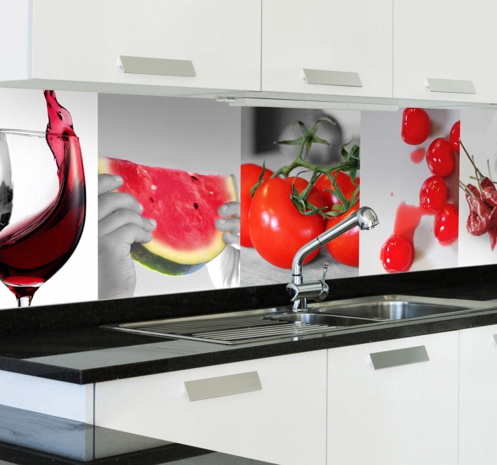 decorar tu cocina alimentos