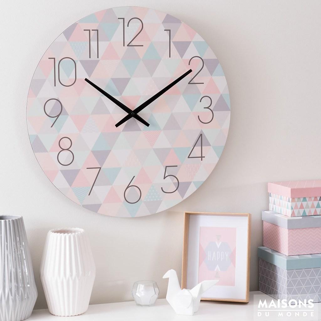 decoracion con relojes modernos