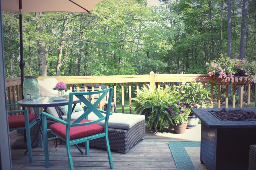An Outdoor Living Reveal And A Cute Dog