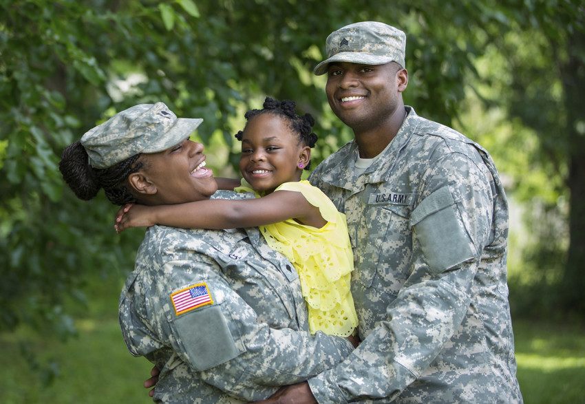 honoring military at the clayton harvest festival