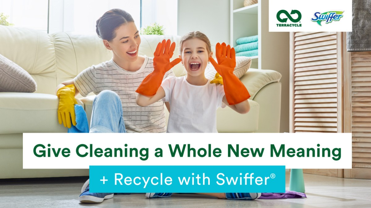 Give Cleaning a Whole New Meaning  + Recycle with Swiffer®