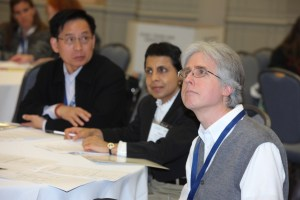 Kevin, Najma, Yinghuei (At IS Leaders' Workshop) (TESOL 2012, March 28, 2012)