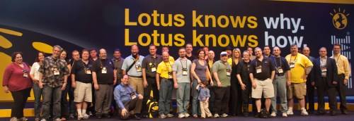 The traditional end-of-Lotusphere picture, from Lotusphere 2010.