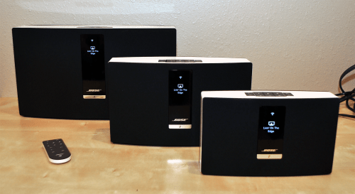 SoundTouch 30, Soundtouch 20 and SoundTouch Portable.