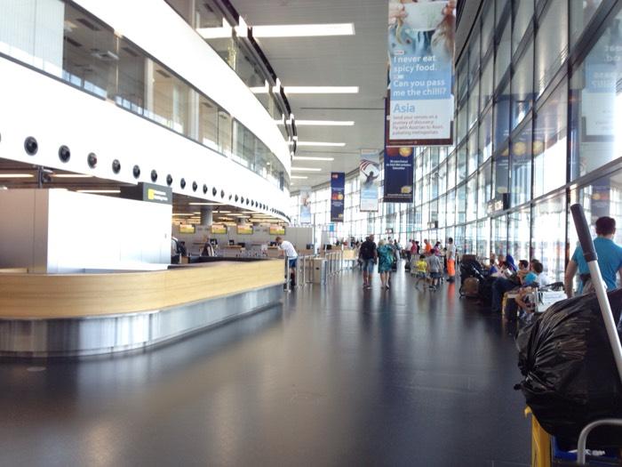 冷戦時代は東西陣営を結ぶハブ空港だった、ウィーン空港。