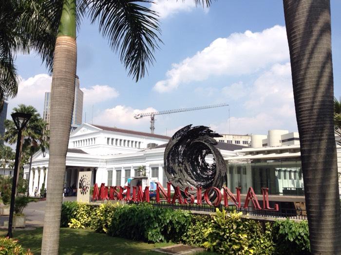 ジャカルタの国立博物館。