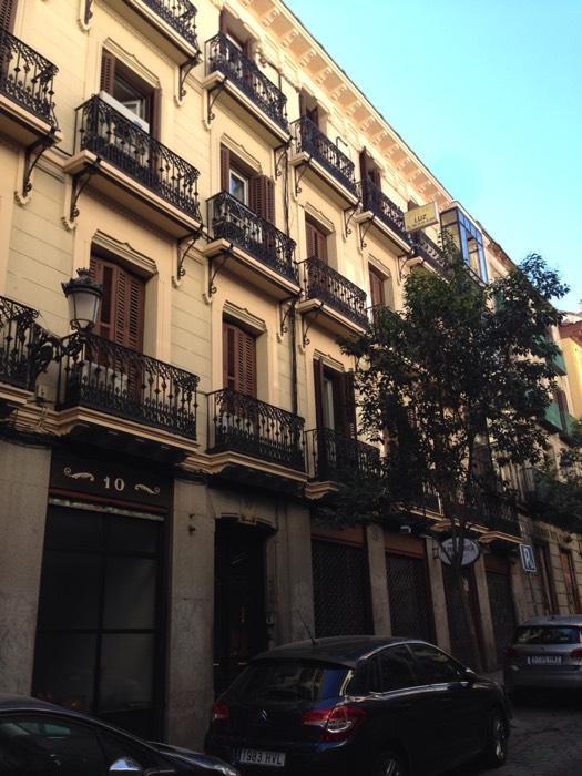 マドリードのホテル。