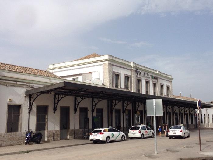 グラナダ鉄道駅。