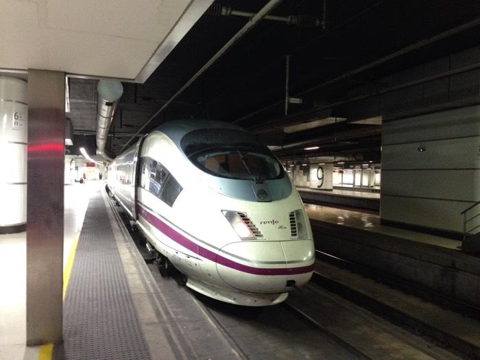 電車の旅、バルセロナからヴァレンス経由ニースへ!
