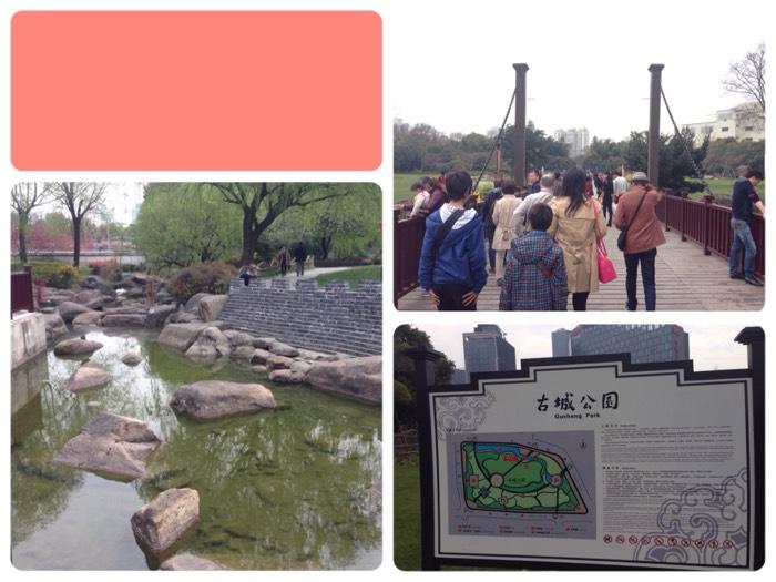 緑豊かな古城公園