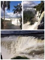 世界遺産「イグアスの滝」。 イグアス (Iguazu) とは先住民のグアラニ族の言葉で「大いなる水」という意味だそうです。 イグアスの滝は、アルゼンチンとブラジルの国境にあります。 アルゼンチン側の「イグアスの滝」の観光時間の目安8時間に対し、ブラジル側は4時間。 アルゼンチン側の方が観る所がたくさんあるのに対し、ブラジル側からの方が滝全体を把握しやすいそうです。 先ずは、アルゼンチン側の「イグアスの滝」をご覧下さい。 アルゼンチン側のイグアスの滝は1984年に世界遺産に登録されました。 以下、世界三大滝と言われる、イグアス、ビクトリア、ナイアガラの比較データです。 イグアスの滝 落差:80m、幅:2700m以上 水量:毎分39億t ビクトリアの滝 落差:110m、幅:1700m 水量:毎分5億t ナイアガラの滝 落差:51m、幅:900m 水量:毎分1億6900万t 水量は、イグアスの滝がダントツに多いですね。