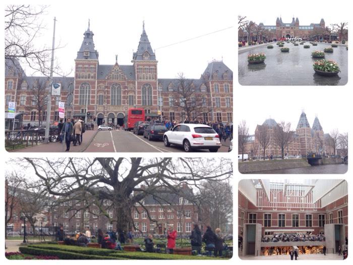 7世紀のオランダ絵画が充実している、アムステルダム国立美術館。