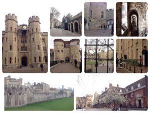 1066年にイングランドを征服したウィリアム1世が1078年にロンドンを外敵から守るために堅固な要塞の建設を命じ、本体は約20年で完成しました。その後、リチャード1世が城壁の周囲の濠の建設を始め、ヘンリー3世が完成させました。 長い歴史の間に国王が居住する宮殿として1625年まで使われ、その間、14〜19世紀にかけては造幣所、天文台、1640年までは銀行、13世紀から1834年までは、王立動物園でもありました。1282年からは、身分の高い政治犯を幽閉、処刑する監獄としても使用されはじめ、14世紀以降は政敵や反逆者を処刑する処刑場となった悲しい歴史もあります。 1988年世界遺産に登録されました。