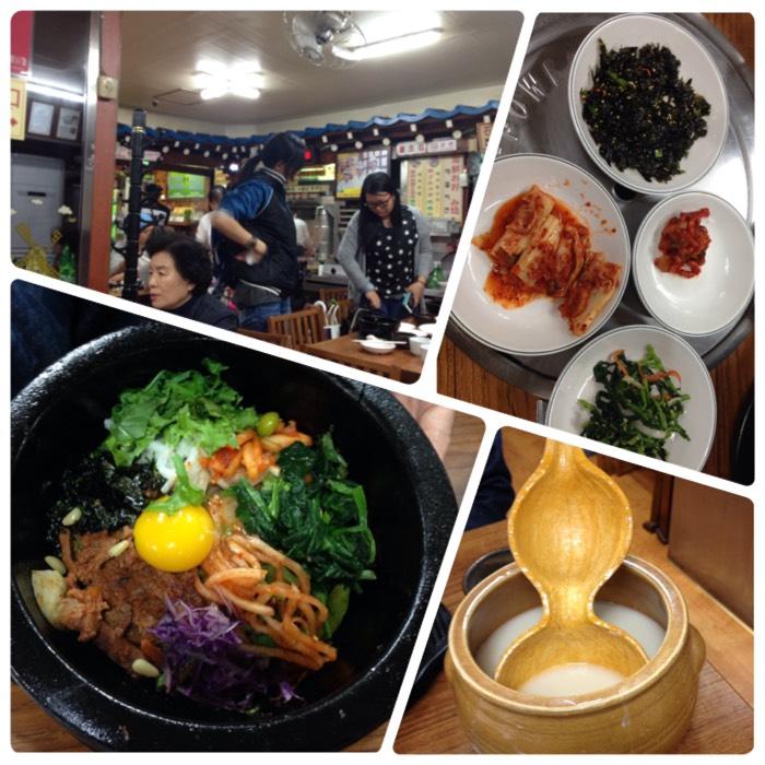 ソウルの夕食。