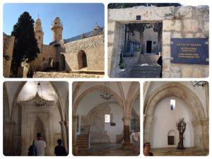 有名な最後の晩餐の舞台となった部屋(下3枚)です。 ここで、キリストが磔刑になる前の晩、弟子たちとユダヤの三大祭りのひとつのぺサハの祭りを祝いました。 そして、その真下に古代イスラエル王国のダビデ王の墓があります。(右上) ダビデ王は紀元前10世紀の人で、古代イスラエル王国の二代目の王です。 旧約聖書に数多く現れ、イエスの先祖とされています。 ※ぺサハの祭りとは、モーゼが奴隷だったイスラエルの民を率いて出エジプト、脱奴隷したことを祝う祭り。