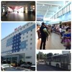 ブカレスト空港とホテル。