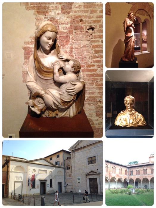 ピサのサンマッテオ国立美術館。