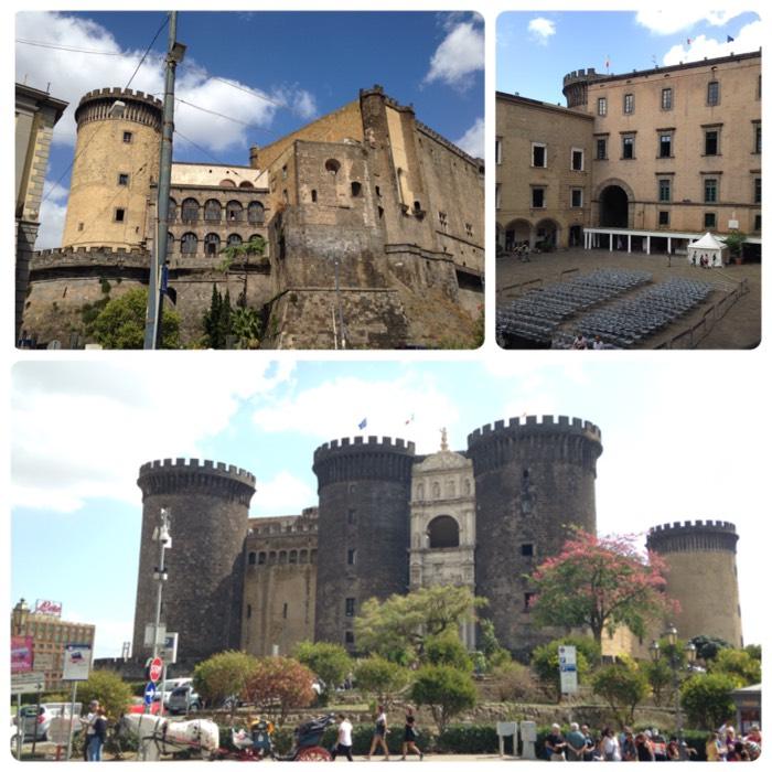 ナポリのヌオーヴォ城。