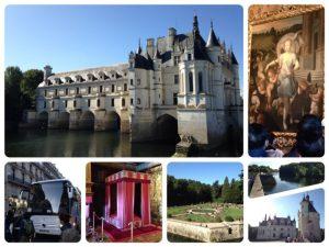 シェール川の古い製粉所跡に建てられた城で、ベルサイユ宮殿に次いで、フランスで2番目に観光客の多い城です。