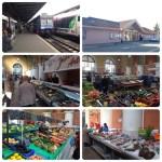 パリから鉄道でプロヴァンの市場へ。