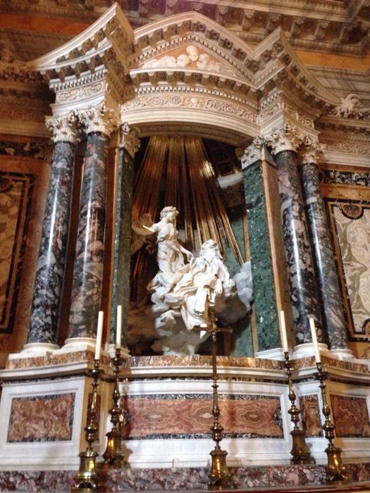 聖テレザの法悦。