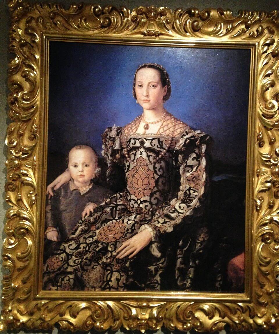 エレオノーラ・ディ・トレドと子息の肖像