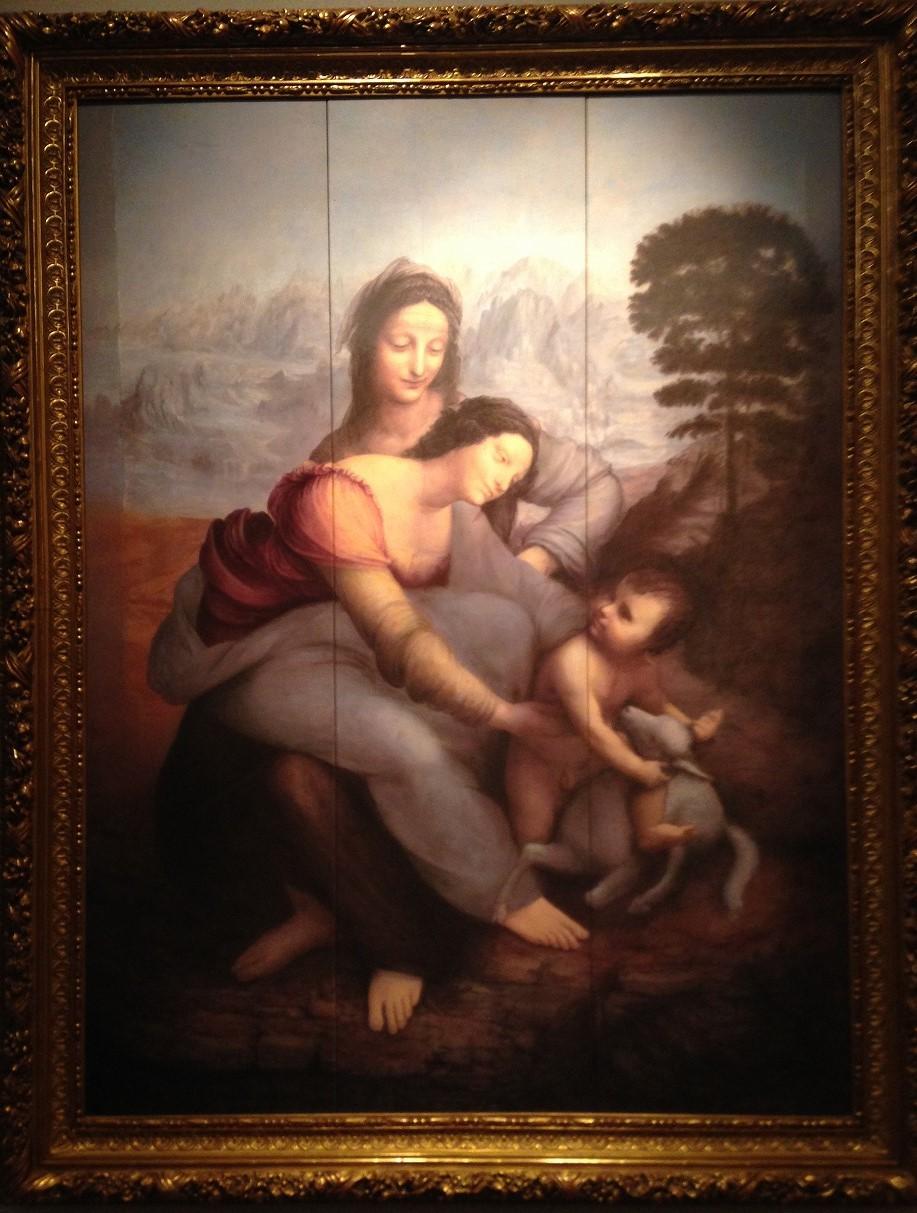 聖アンナと聖母子
