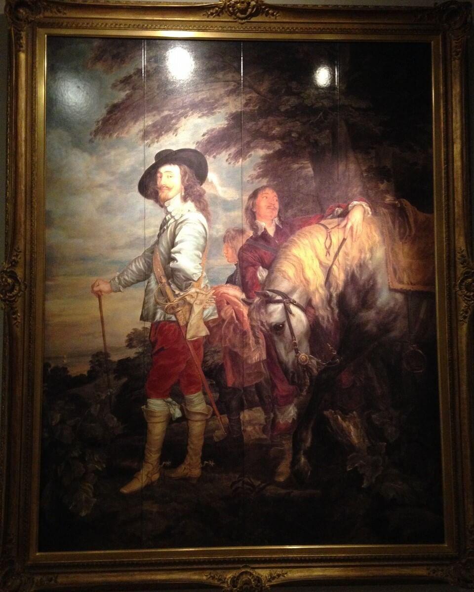 狩猟場のチャールズ1世